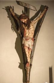 Cristo di fico con l'anima di sorbo