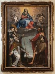 Madonna Assunta adorata Cappella Misericordia