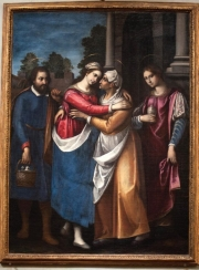 Visitazione, di Francesco Curradi chiesa San Giovanni Ev.